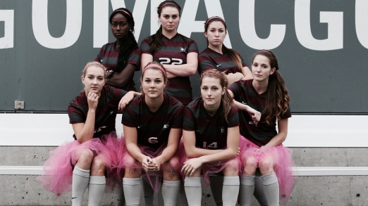McMaster University Women's Soccer Team, Supporting the Annual Think Pink Campaign for Breast Cancer Awareness