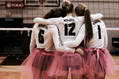 McMaster University Women's Volleyball Team, Supporting the Annual Think Pink Campaign for Breast Cancer Awareness