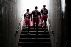 McMaster University Men's Rugby Team, Supporting the Annual Think Pink Campaign for Breast Cancer Awareness