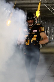 Justin Capicciotti, Tim Hortons Field Tiger-Cats video shoot