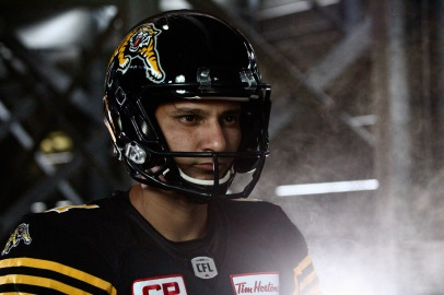 Sergio Castillo, Tim Hortons Field Tiger-Cats video shoot