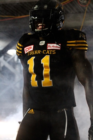Larry Dean, Tim Hortons Field Tiger-Cats video shoot