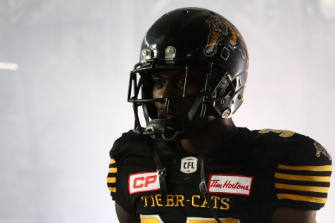 Richard Leonard, Tim Hortons Field Tiger-Cats video shoot