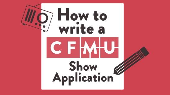 How to write a CFMU Show Application
